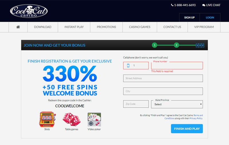 Cool Cat Casino No Deposit Bonus Codes And Welcome Bonuses Aug 2020