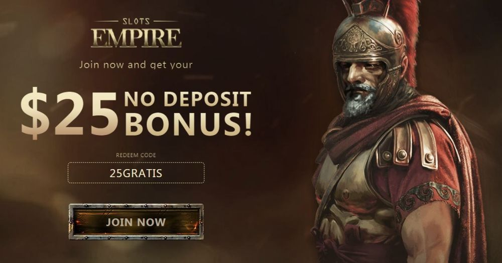 Slots Empire No Deposit Bonus