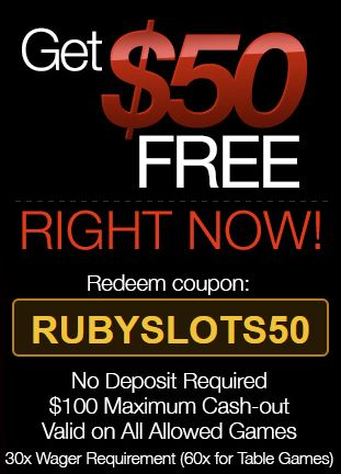 11 rows · 11/7/ · Ruby Slots Casino Deposit Bonus Codes After redeeming your no deposit Brand: Ruby Slots Casino.