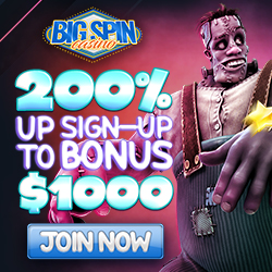 Big Spin Bonus Code