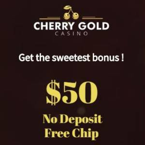 Cherry Gold Casino Bonus Codes